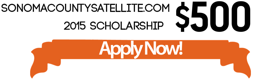 SonomaCountySatellite Scholarships