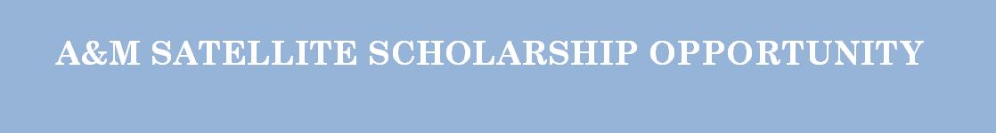 SonomaCountySatellite Scholarships