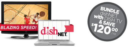 Dish Network has internet where your live! Get a TV and